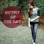 OOTD – Black and red