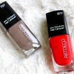 Review: 2x Artdeco Art Couture Nail Lacquers